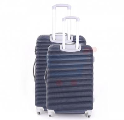 Combo Offer Para John 2Pcs Trolley Luggage, 24 Inch And 28 Inch Blue- PJTR3045