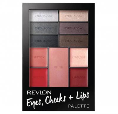 Revlon Eyes, Cheeks + Lips Palette -300 Seductive Smokies