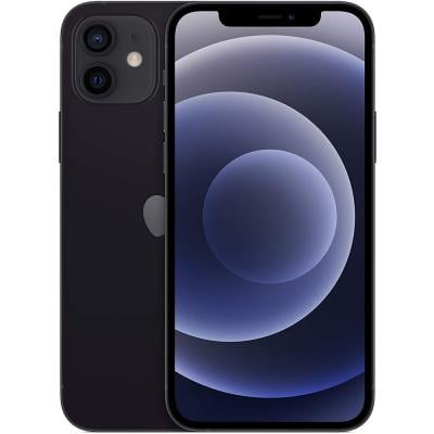 Apple iPhone 12, 64GB Storage, 5G, Black With FaceTime