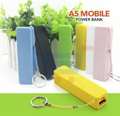 A5 Mobile Power Bank, 2600mAh