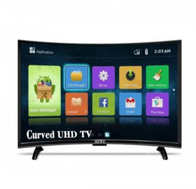 MEWE 40-Inch 4K Curved Smart LED TV CTV4000