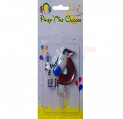 Party Time Candle animal 6 M116