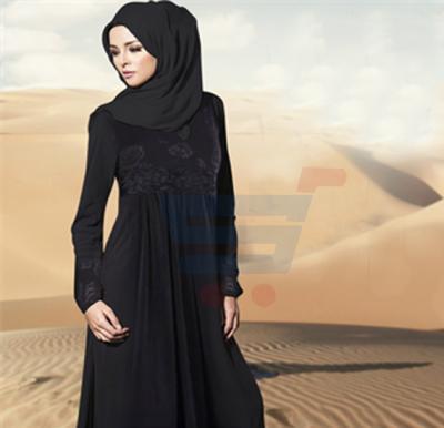 Ayishas Flower Design Black Velvet Handmade, Crom ABY-3