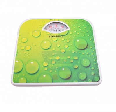 Sonashi Manual Bathroom Scale SSC-2212-Green