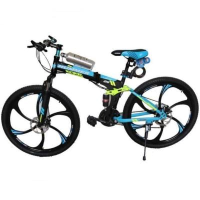 Hummer 26 inch Folding Bike With Disc Brakes And 21 Speed, HL S2621 6Y