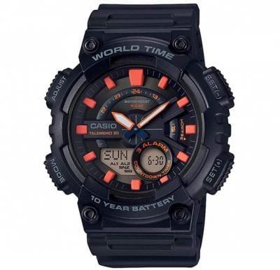 Casio Men s Resin Analog or Digital Watch AEQ-110W-1A2VDF