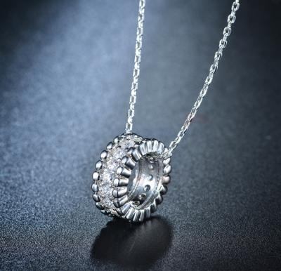 Tiara Elements Transparent Crystal Studed Necklace - UN0106