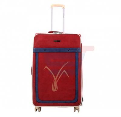 Para John 27 Inch Trolley Luggage, Red- PJTR3059