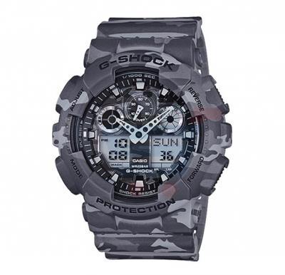 Casio G-Shock GA-100CM-8ADR Analog Digital Watch For Men-Grey