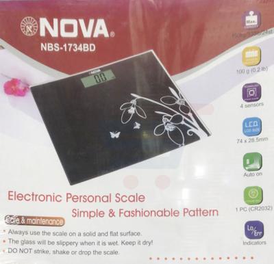 NOVA Electronic Personal Scale NBS - 1734BD