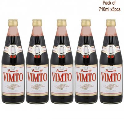 5 in 1 Vimto Cordial Dilutable Juice 710ml