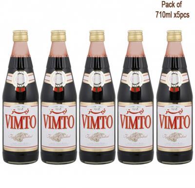 5 in 1 Vimto Cordial Dilutable Juice 710ml