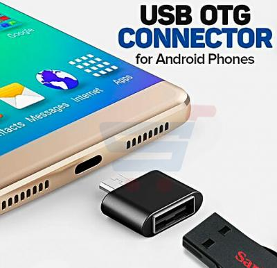 Zooni Universal Multi Color Plug & Play Micro USB 2.0 OTG Connector For Android Phones