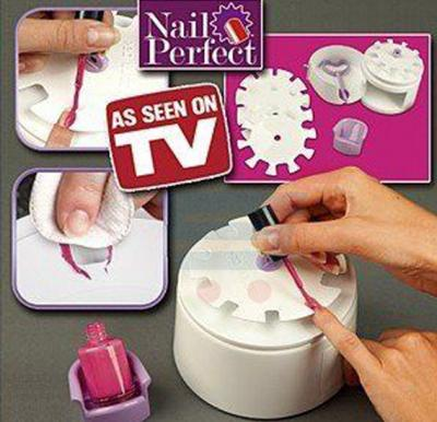 Nail perfect nail art polishing tool