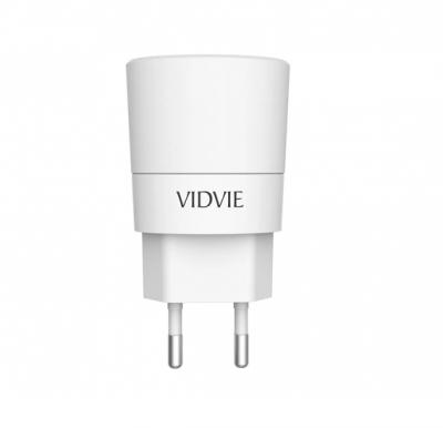 Vidvie 2 Usb Port Iphone Charger Ple208 (Usb Cable Included-iphone)