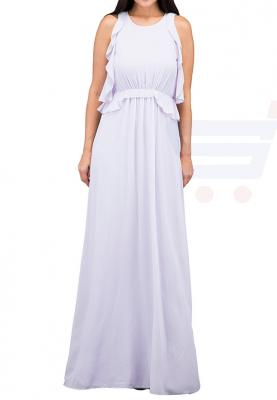TFNC London Soledo Maxi Maxi Dress Lilac - CTT 6415 - XXL