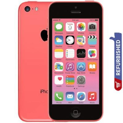 Apple iPhone 5C Pink 32GB Storage, Refurbished