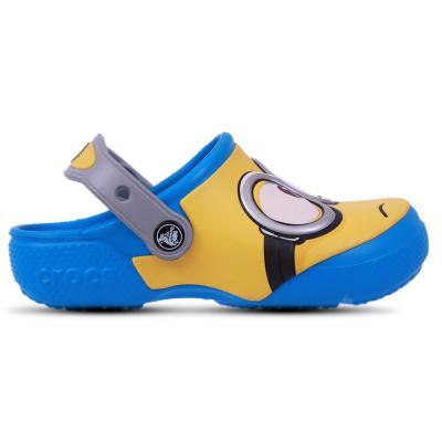 Crocs Kids Clogs Sandals Crocsfunlab Minions Clog Ocean, Size 24