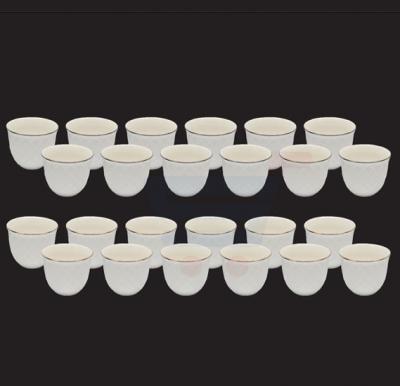 RoyalFord 12pcs Bone China Cawa Cup, RF8280