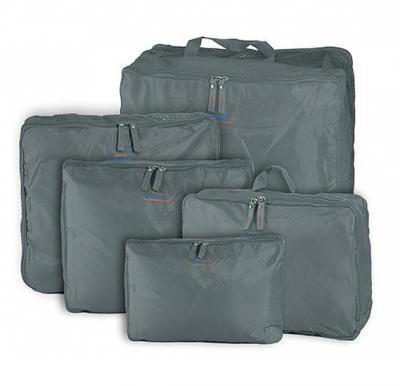 5-piece Travel Bag Organizer Set,  Grey