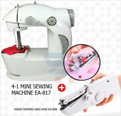 Bundle Offer! Buy 4-1 Mini Sewing machine EA-817 + Hand Sewing Machine EA-806