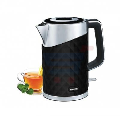 Geepas 1.7 Litre Stainless Steel Double Layer Kettle GK6141