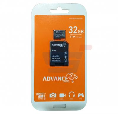 Advance Media 32GB Professional MicroSD Card