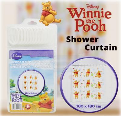 Disney Shower Curtain Winnie The Pooh - PK1009-11104