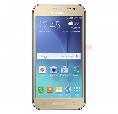 Samsung Galaxy J200F,4G LTE,Android OS,4.7 inch Display,Dual SIM,Dual Camera,Quad Core 1.3GHz Processor-Gold