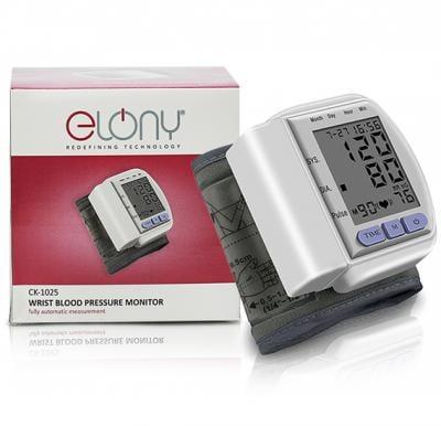 Elony Automatic Digital LED Monitor Display Wrist Blood Pressure Meter, CK-120S