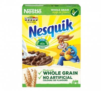 Nesquick Breakfast Cereals 375 g