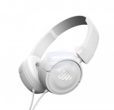 JBL T450 On-Ear Headphones - White