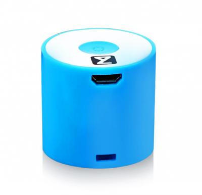 Zakk Atom Y86 Smart Box Portable Bluetooth Mobile/Tablet Speaker-Blue