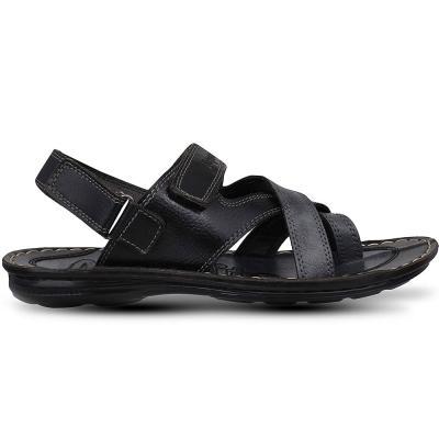 Aqualite Sandal for Mens Color Black PSD-1203, Size 44