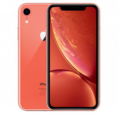 Apple iPhone XR Dual SIM 256GB 3GB RAM 4G LTE- Coral