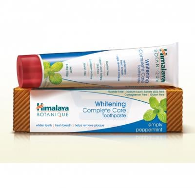 Himalaya Botanique Whitining Complete Care Tooth Paste Simply Peppermint 150 GM - NHO0078