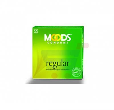 Moods Condom Regular Pack Of 3