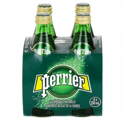 Perrier Water Regular 330 ml x 4 pcs Special Offer