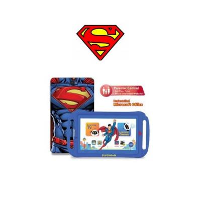 Touchmate TM-MID792SB Superman 3G Kids7 Inch Tab 1GB  Ram, 16GB Storage +Silicone Cover+Earphone
