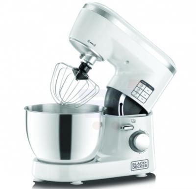 Black & Decker 300W Bowl & Stand Mixer 1000W Stand Mixer, SM1000-B5