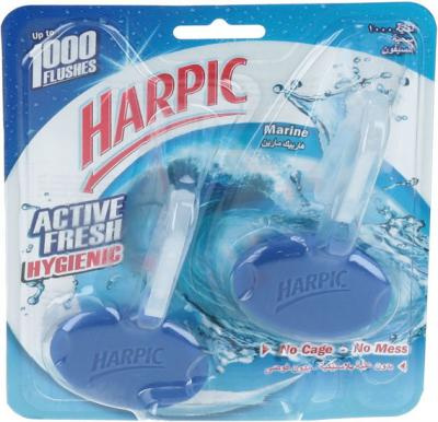Harpic Active Fresh Marine Hygienic Cageless Block