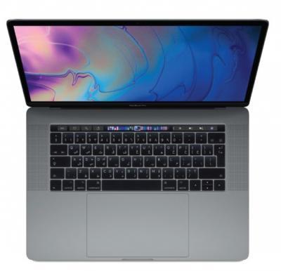MacBook Pro 15 Touch Bar & Touch ID 2018 – Core i7 2.2GHz 16GB 256GB 4GB 15.4inch Space Grey Arabic, MR932AB/A