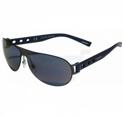 Chopard Aviator Black Frame & Grey Mirrored Sunglasses For Women - SCHB83-627P