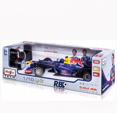 Maisto Tech R/C 1:18 Red Bull RB9 Inclusive Batteries - 81084
