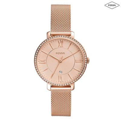 Fossil Analog Gold Dial Womens Watch, ES4628