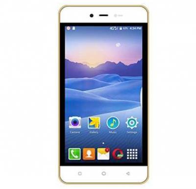 Videocon Delite 11 4G Smartphone, Android 7.0, 5.0 Inch Display, 1GB RAM, 8GB Storage, Dual Camera, Dual Sim, Grey