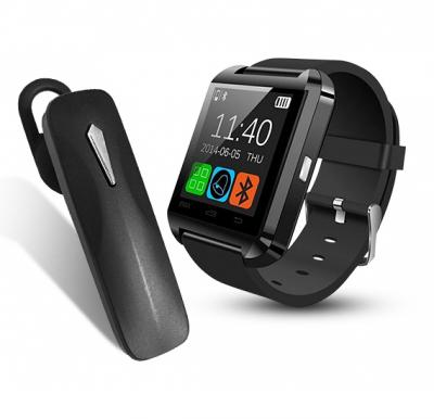 2 In 1 Offer Bluetooth Smart Watch With Bluetooth Handsfree Mono Headset