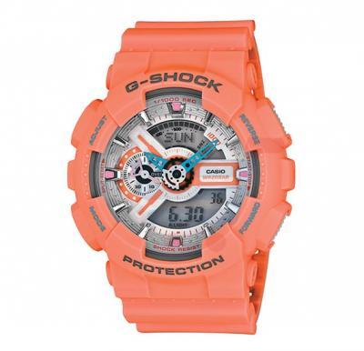 Casio G-Shock GA-110DN-4ADR  Analog Digital Watch-Orange