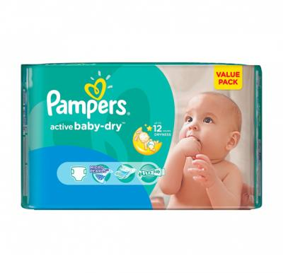 Pampers Active Baby  VP No.3 (4-9kg) 138pcs