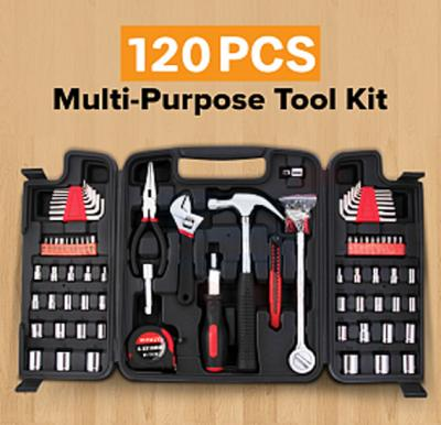 120 Pcs Multipurpose Toolkit